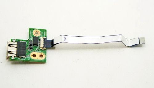 01013JS00-575-G Плата USB для HP G62 , G72 , CQ62