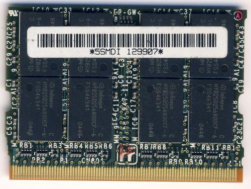 Память для ноутбука Sony Vaio VGN-S2HRP 512mb
