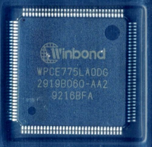 WPCE775LA0DG мультиконтроллер Winbond