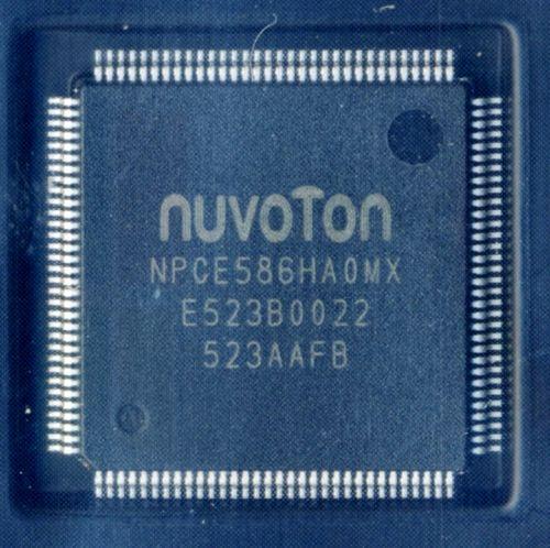 NPCE586HA0MX мультиконтроллер NUVOTON TQFP128