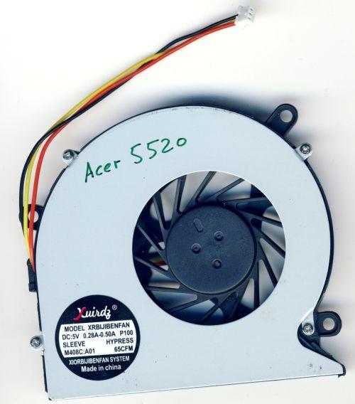 Вентилятор для ноутбука Acer Aspire 5220, 5715, 5720, 7220 Dell Inspiron 1425
