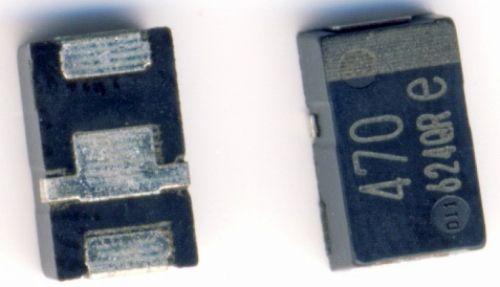 EEFLX0E471R4 -  Конденсатор, SP-Cap, 470 мкФ, 2.5 В, Серия LX, 2917 0.0045 Ом