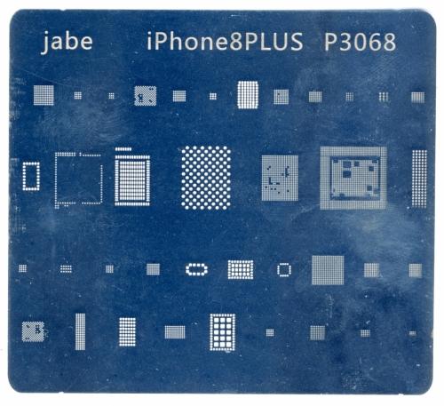 Трафарет для ремонта Apple Iphone 8 Plus