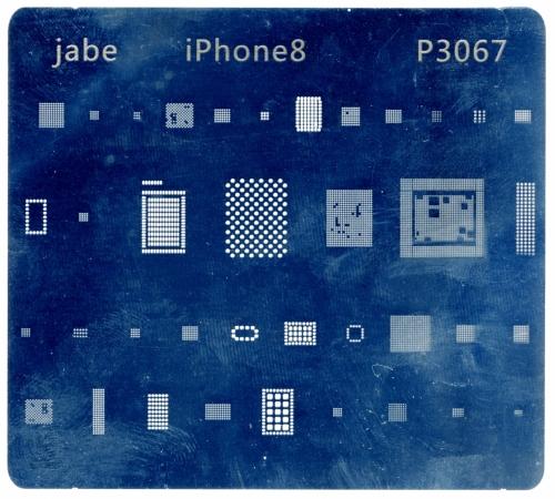 Трафарет для ремонта Apple Iphone 8