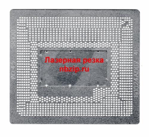 Трафарет прямого нагрева BGA 1364 Intel 4 поколения HQ серия. Лазер !
