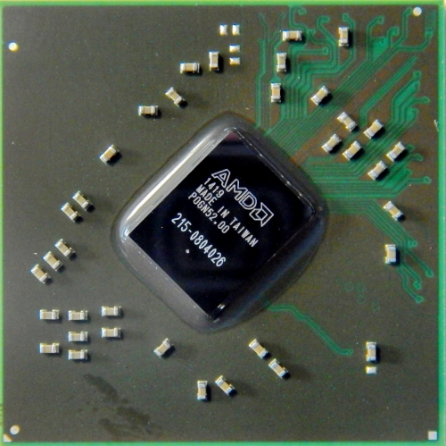 215-0804026 видеочип AMD HD 6450A