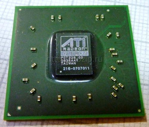 Купить 216-0707011 видеочип AMD Mobility Radeon HD 3450