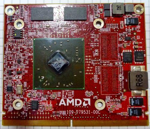 Видеокарта ноутбука Mobility Radeon HD 4500