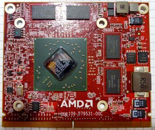 Видеокарта ноутбука Mobility Radeon HD 4650