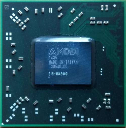 216-0846009 видеочип AMD Mobility Radeon HD 8850M замена 216-0846000
