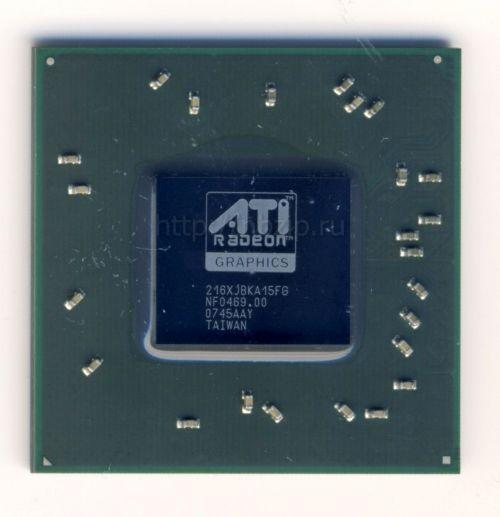 216XJBKA15FG Видеочип ATI  X2600 M76 BGA новый