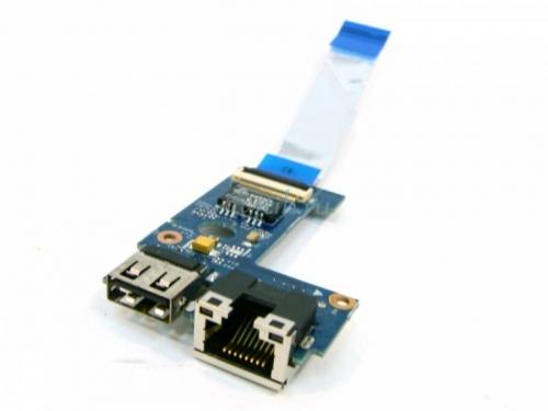 Плата USB для Lenovo B570 RJ-45 55.4IH06.011