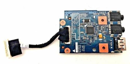 Lenovo B575e B570e B570 B575 плата с портами Audio и CardReader с кабелем 55.4IH02.011