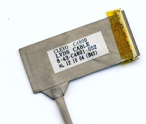 Шлейф матрицы для ноутбука Clevo C4800, HCL L74, Itautec A7520, W7535, W7730, W7425