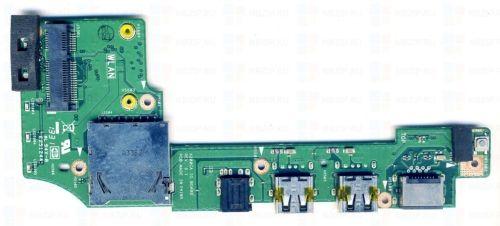 "ASUS 11.6"" X200CA Series OEM Dual USB Audio SD Board 60NB02X0-IO1070-211 GLP"