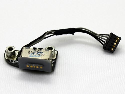 820-2565-A разъем питания MagSafe со шлейфом для Apple MacBook Pro 13 15 A1278, A1286, A1297