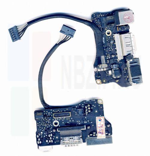 820-3455 , 923-0439 плата MagSafe 2 и I/O для Apple MacBook Air 13 A1466, Mid 2013 Early 2014