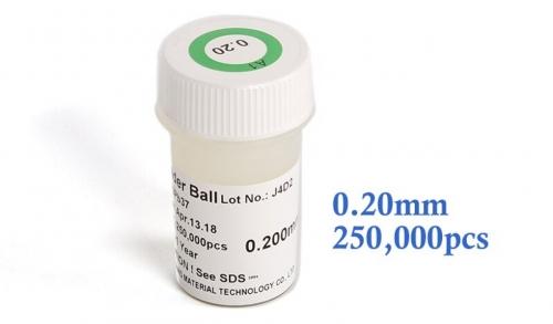 0.2 mm шариковые выводы для BGA микросхем 0.2 мм, 250000 шт