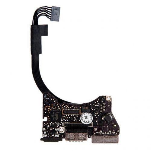 923-0430 Плата I/O с разъемами Audio USB MagSafe 2 MacBook Air 11 A1465 Mid 2013 Early 2014 Early 2015 Mid 2017 820-3453-A