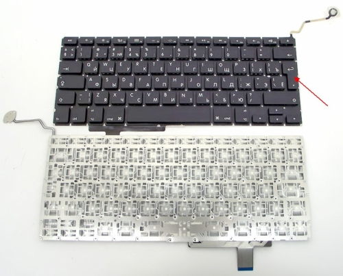 Клавиатура ноутбука MacBook Pro 17 A1297, русская