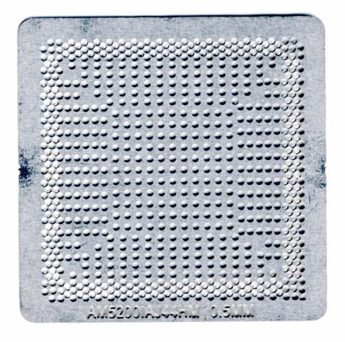 Трафарет прямого нагрева AMD AM5200  AM5200IAJ44HM  AM5000IBJ44HM  EM2100ICJ23HM