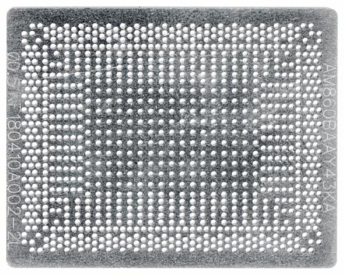 Трафарет прямого нагрева AMD CPU EM7110 , AM7210 ,A8-8600 и другие