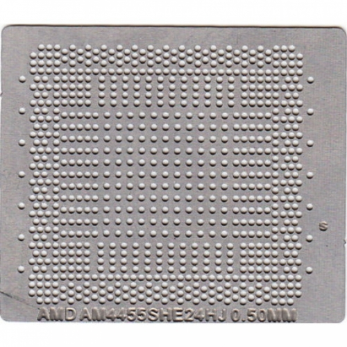 Трафарет прямого нагрева AMD A6-4455M  A8-4455M  AM4455SHE24HJ  AM4455SHE44HJ