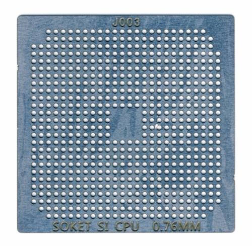 Трафарет прямого нагрева Сокет S1 AMD