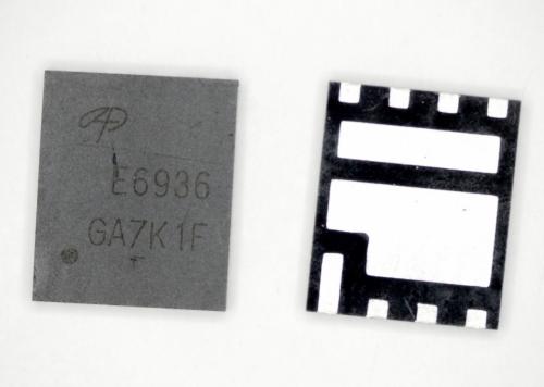 AOE6936 E6936 30V Dual Asymmetric N-Channel MOSFET
