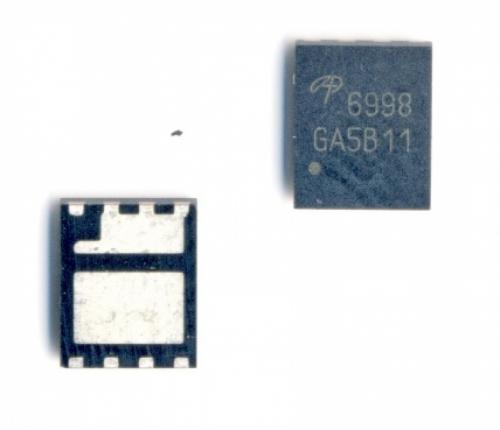 AON6998 ,6998 MOSFET 2N-CH 30V 19A/26A DFN