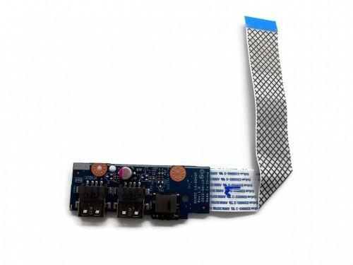 Плата AUDIO/USB Q1VZC LS-8942P Rev: 1.0 Acer Aspire V5-131/171, One 756, C710