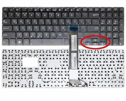 Клавиатура Asus K551 K551L K551LA K551LB K551LN, Asus Vivobook K551, S551 , V551, TP500LN серий