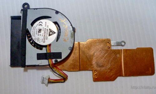 Вентилятор для ноутбука: Asus VivoBook X200, X200A, X200CA, F200C, F200CA