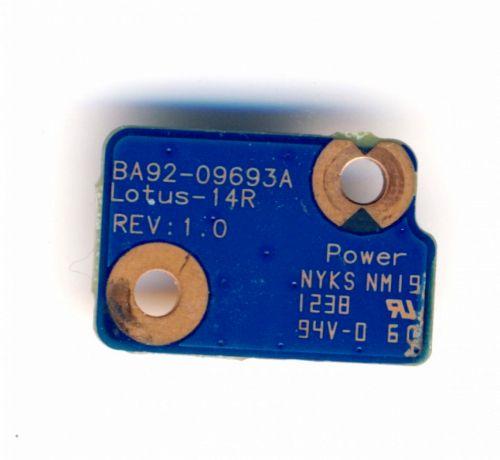 Samsung BA92-09693A кнопка включения ультрабука NP535U3C NP530U и др.