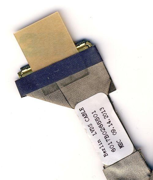 6017B0265501 Шлейф матрицы Toshiba Satellite C650, C655