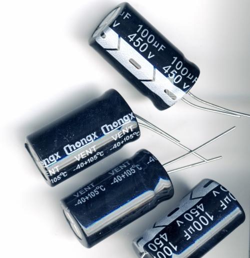Конденсатор электролитический 100x450v (18x32 мм)