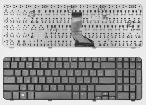 CQ61 keyboard