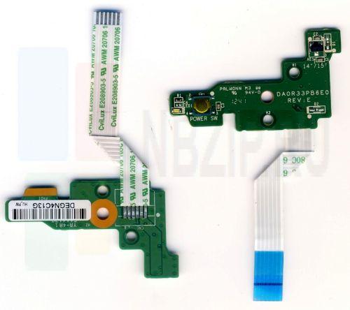 DA0R33PB6E0 Плата включения HP G6-2000, G7-2000