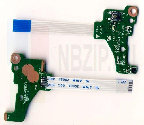 DA0R63PB6D0 плата включения HP Pavilion 15-e серия