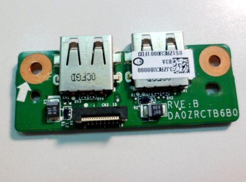 DA0ZRCTB6B0 плата с разъемами USB для ноутбука Acer eMachines E732/Travelmate 7520/7220