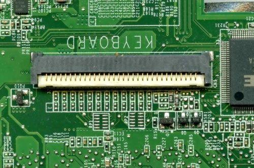 Разъем клавиатуры ноутбука HP 32 pin flip новый