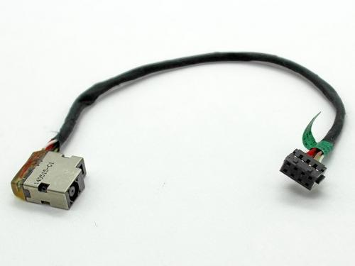 Разъем питания для ноутбука HP Envy 17E, 15-J030us, 15-J031nr, 15-J032, Pavilion 15-E с кабелем