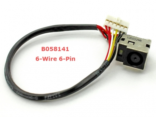Разъем питания ноутбука  Compaq Presario CQ61 HP Pavilion DV6-1000 DV6-2000 G61 533465-001
