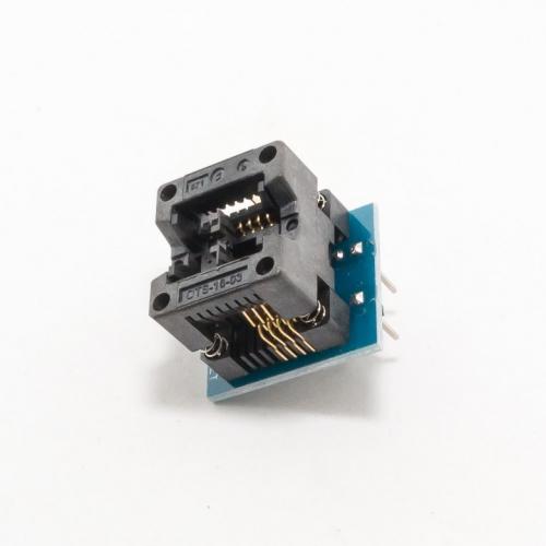 Адаптер для программатора Soic8 Sop8 - Dip8 150mil