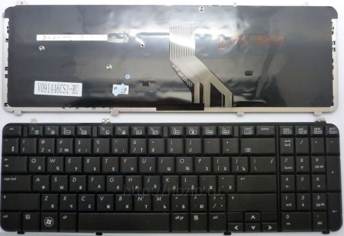 Клавиатура ноутбука HP Pavilion dv6-1000, dv6-1100, dv6-1200