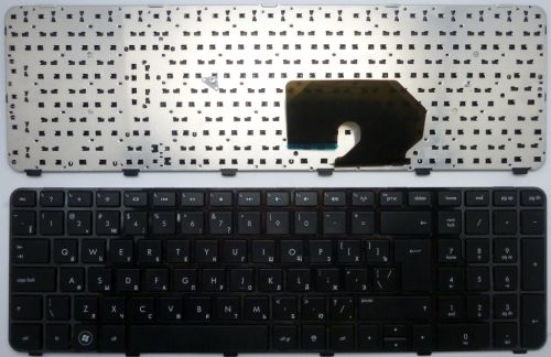 Клавиатура ноутбука DV7-6000 черная с рамкой
