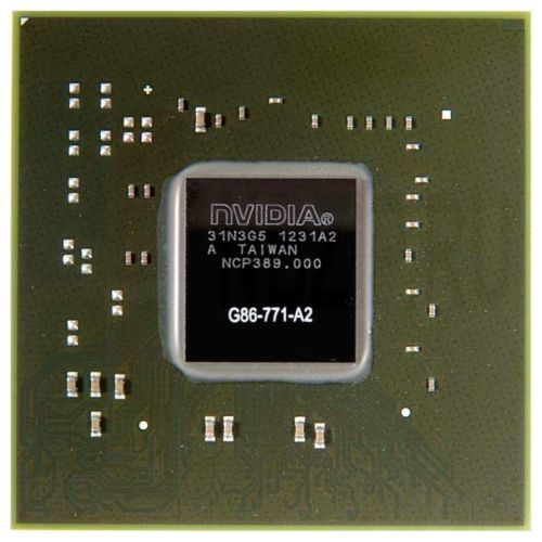 G86-771-A2 видеочип nVidia GeForce 8600M GS