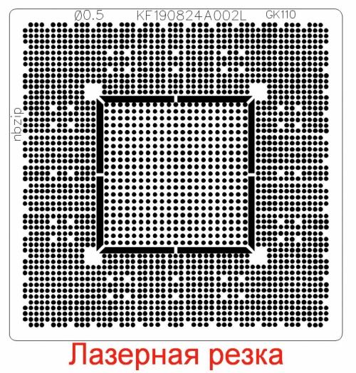 Трафарет прямого нагрева GK110-400-B1 GK110-425-B1 GK110-301-B1 GK110-301-B1 GK110-300-B1 GK110-430-B1 GP102-100-A1 GP102-101-A1 GP102-875-A1