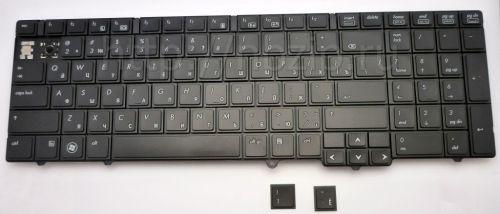 Клавиатура ноутбука HP 6540b, 6545b, 6550b с дефектом