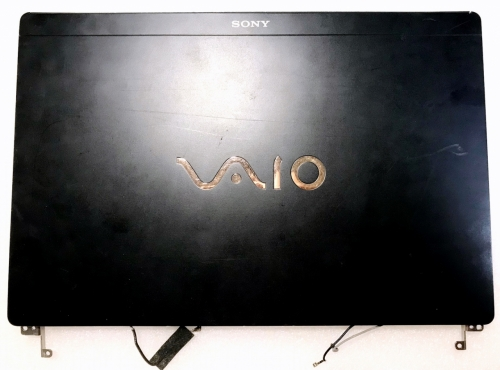 Крышка матрицы в сборе с петлями Sony Vaio VPCX VPC-X VPCX11S1R